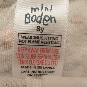 Mini Boden Pajamas - Mini Boden pajamas button down romper